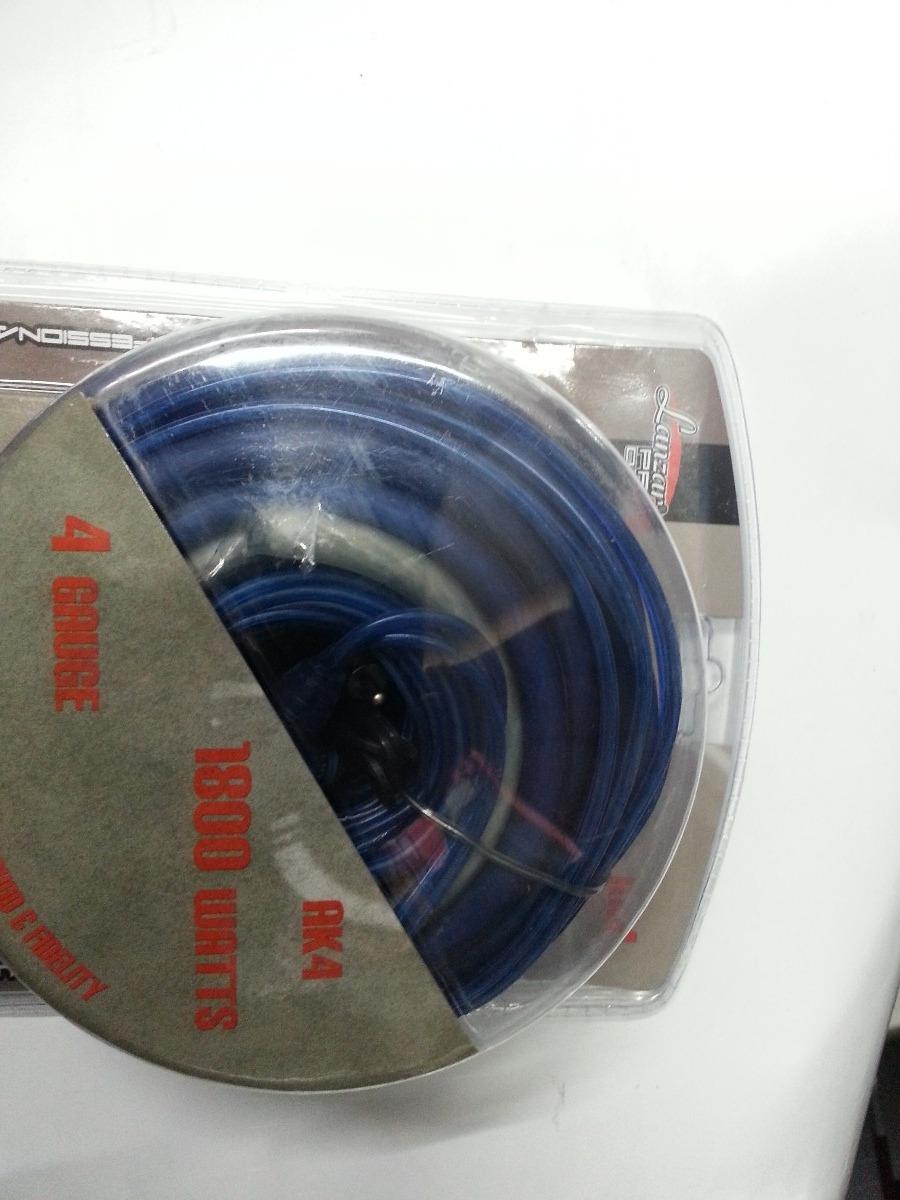 Kit De Cables Lanzar Pro Nro.4