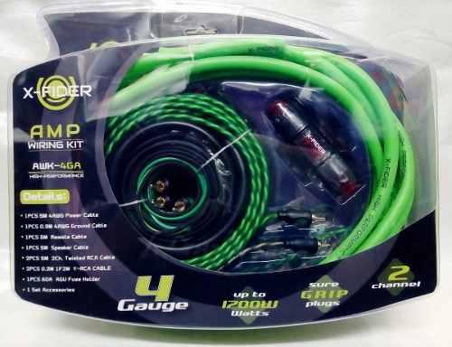 Kit De Cables Nro.4 Marca X- Fider