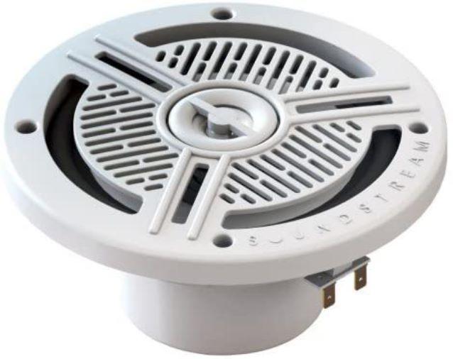 """Soundstream ms. 65 W Marine Grade 6,5 """"160 W Max 2 Vías altavoces blanco, juego de 2 (color blanco)"""