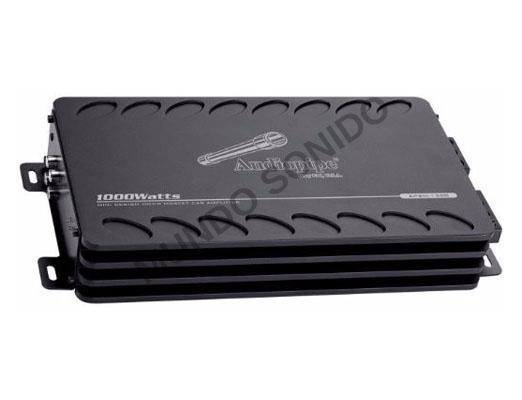 Amplificador Audiopipe APMI-1300 monofónica digital 1000 watss