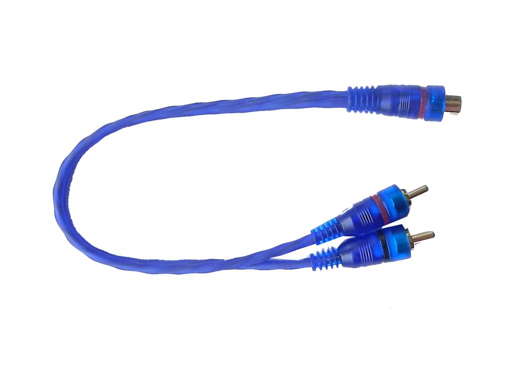 Cable RCA Y BETTER Cable RCA en Y  Dos machos y una hembra