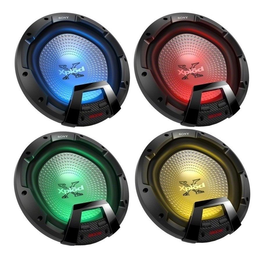 Bajo Sony Xs-ledw12 De 30 Cm 12 Con Iluminación