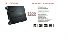 Amplificador Kbt Kombat A1000-4 4ch