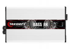 Amplificador Taramps Bass8k 1canal 8000 Rms 1 Ohm