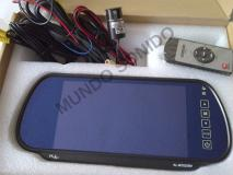 Combo Kl Audio 3 en 1 Pantalla retrovisor, sensores y cámara de reversa