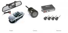 Sensor Rv. Con Camara Y Espejo De 4.3 Better Ref: Bt9005