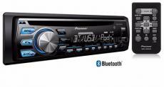 DEH-X4750BT Receptor de Audio con MIXTRAX, Bluetooth Integrado, y Control Directo USB para iPod/iPhone