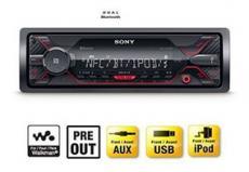 Radio Sony Dsx-a410bt Aux Extrabass Bluetooth 55w Ipho