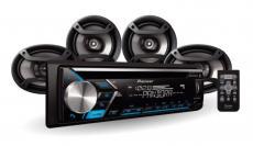 Radio Pioneer Dxt S4069bt Combo Pandora Stereo + 4parlantes