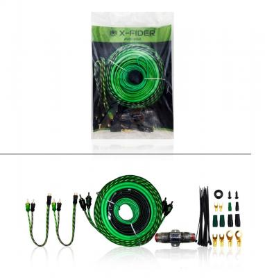 Kit De Instalacion X-fider  Awk-8ga  Cable #8