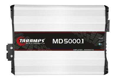 Amplificador Taramps Md5000.1 1canal 5000rms 1ohm