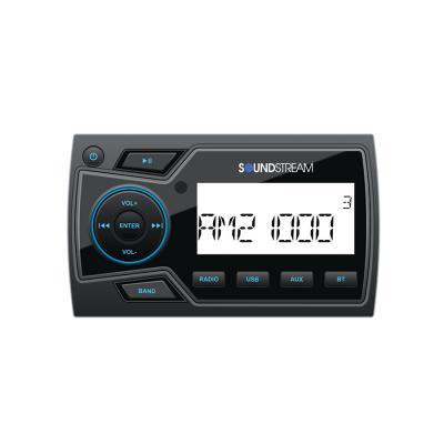 Radio multimedia digital de grado marino con reproducción USB de 32 GB, Bluetooth 4.0 y audio de 2 zonas