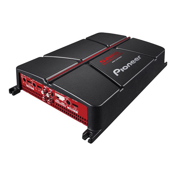 Amplificador Pioneer Ref: GM-A4704 4 Canales 520w Max.